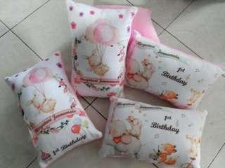 Customised Birthday Goodie Bags/Cushions with Personalised Name
