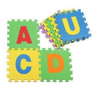 Alphabet Foam Play Mat (educational for babies)