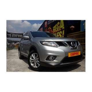 NISSAN X-TRAIL 2.0 ( A ) CVTC !! NEW FACELIFT !! NEW MODEL !! PREMIUM FULL HIGH SPECS !! FULL SERVICE RECORD BY NISSAN !! ( WX 7655 X ) 1 CAREFUL OWNER !!