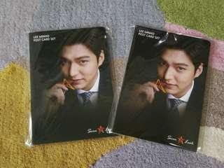 Lee minho seven casino postcard set and free 30000 won chips