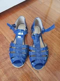 Novo blue sandals