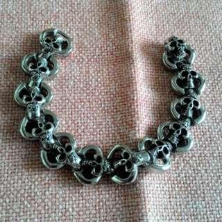 Gelang Skull Cycle Stainless Steel