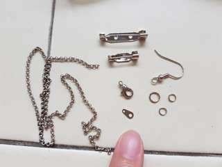 ♡ Earring and Broach Materials