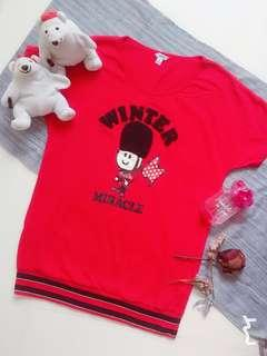 Red toy soldier top