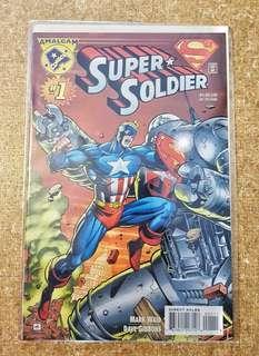 Amalgam Comics: Super-soldier #1