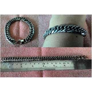 Gelang Chain Simple Stainless Steel
