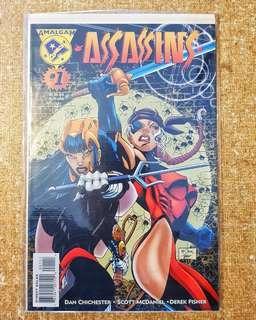 Amalgam Comics: Assassins #1