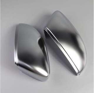 Volkswagen R Line Style Matt Chrome Silver Wing Mirror Covers