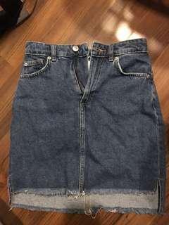H&m denim skirt / highwaist skirt