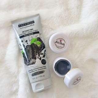 Freeman Charcoal+Black Sugar Mud mask
