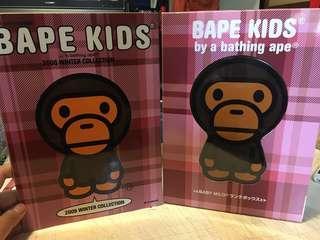 絕版2008年 BAPE KIDS 便當盒 食物盒 mook book