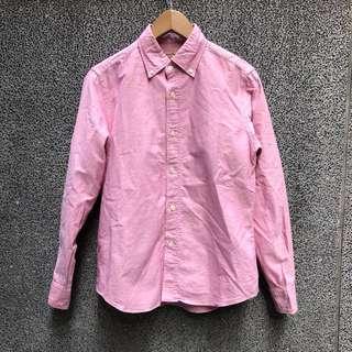 🚚 JOURNAL STANDARD 粉色襯衫(男女皆可)