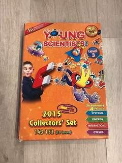 The Young Scientists 2015 Collectors' Set - Level 3 Issues 143 to 152