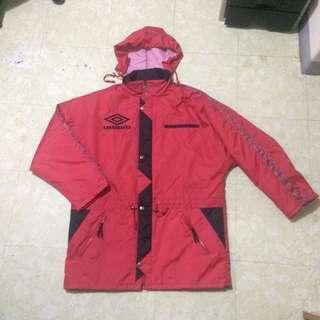 UMBRO RAIN JACKET (with retractable hood)