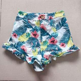 🚚 Floral Skorts Shorts