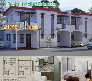 3Bedroom House and Lot in Consolacion Cebu