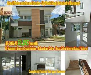 4Bedroom House and Lot Single Detached Unit in Talamban Cebu