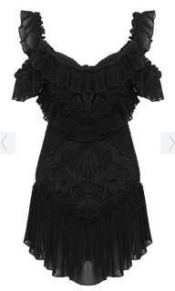 Alice McCall lovebirds dress black 6