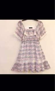 🚚 粉紫色洋裝