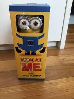 Brand New Minion Glass Bottle/ cup