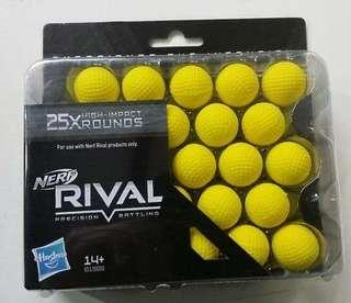 Nerf rival 25 rounds refill pack (authentic)