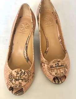 Tory Burch Nude Wedge