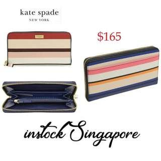 f9a7bcc5c6c62 Brand new instock authentic Kate Spade New York Laurel Way Neda Saffiano  Leather Zip Around Wallet