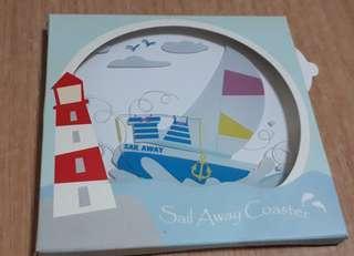 Sail Away Mug Coaster