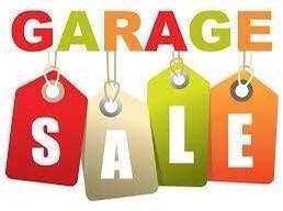 Garage sale Sat 27th Oct