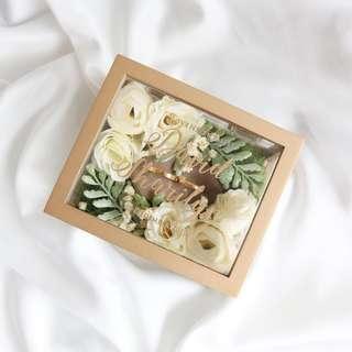 Custom ring bearer box