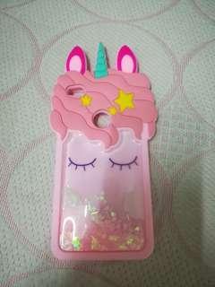 Huawei gr3 (2017) Unicorn silicon glitter case