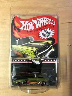 Hot Wheels mail-in 56 Chevy convertible 2017