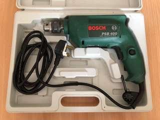 Bosch 電鑽 石屎鑚 衝擊鑽 (連盒)