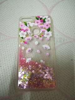 Huawei nova 2i lite flower glitter case