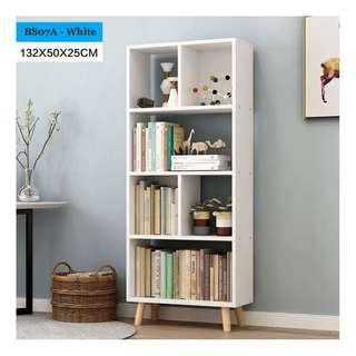 🚚 Tall Bookshelf - White