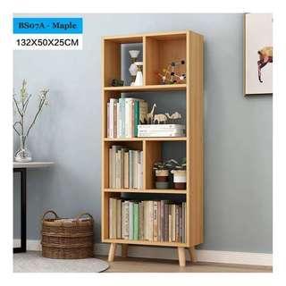 🚚 Tall Bookshelf - Maple