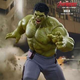 Hot toys AOU MMS 286 normal version hulk