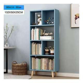 🚚 Tall Bookshelf - Blue