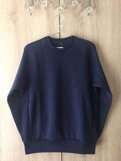 🚚 ::Uniqlo::Dry彈性休閒上衣 深藍色
