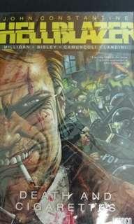 Hellblazer John Constantine comic