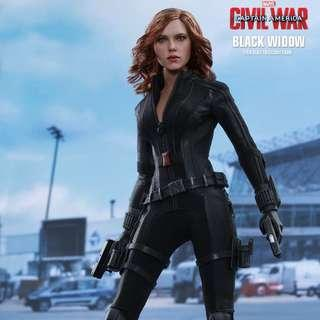 Hot toys Black widow mms 365 civil war