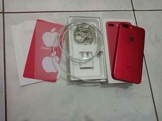 Iphone 7plus 128gb red edition
