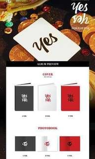Twice yes or yes album