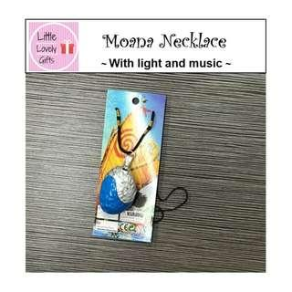 Moana Necklace with Music and Light