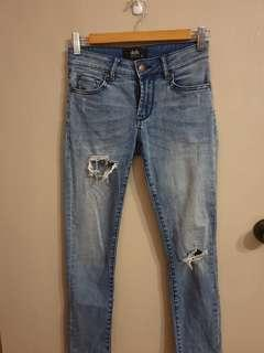 Dotti Light Blue Skinny Jeans
