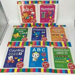 Learning books/ Activity books
