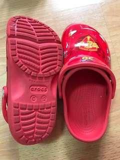 Mc queen crocs sandals 12c