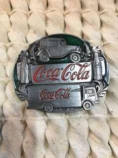 ⚜️1991 Coca-Cola Buckle⚜️