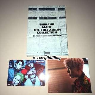BIGBANG MADE FULL ALBUM THE COLLECTION PHOTOBOOK