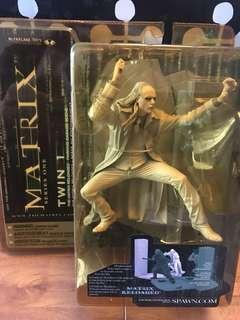 McFarlane Toys Matrix Reloaded Twin 1